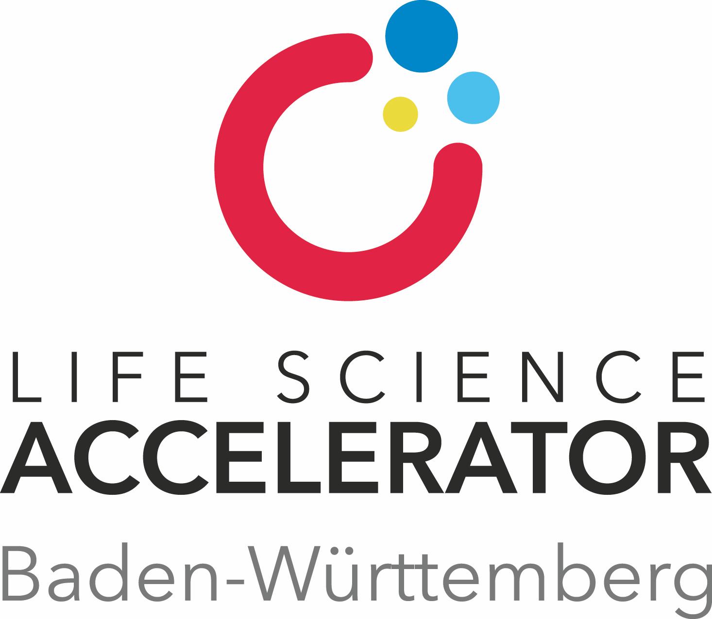 Life Science Accelerator Baden Württemberg Logo
